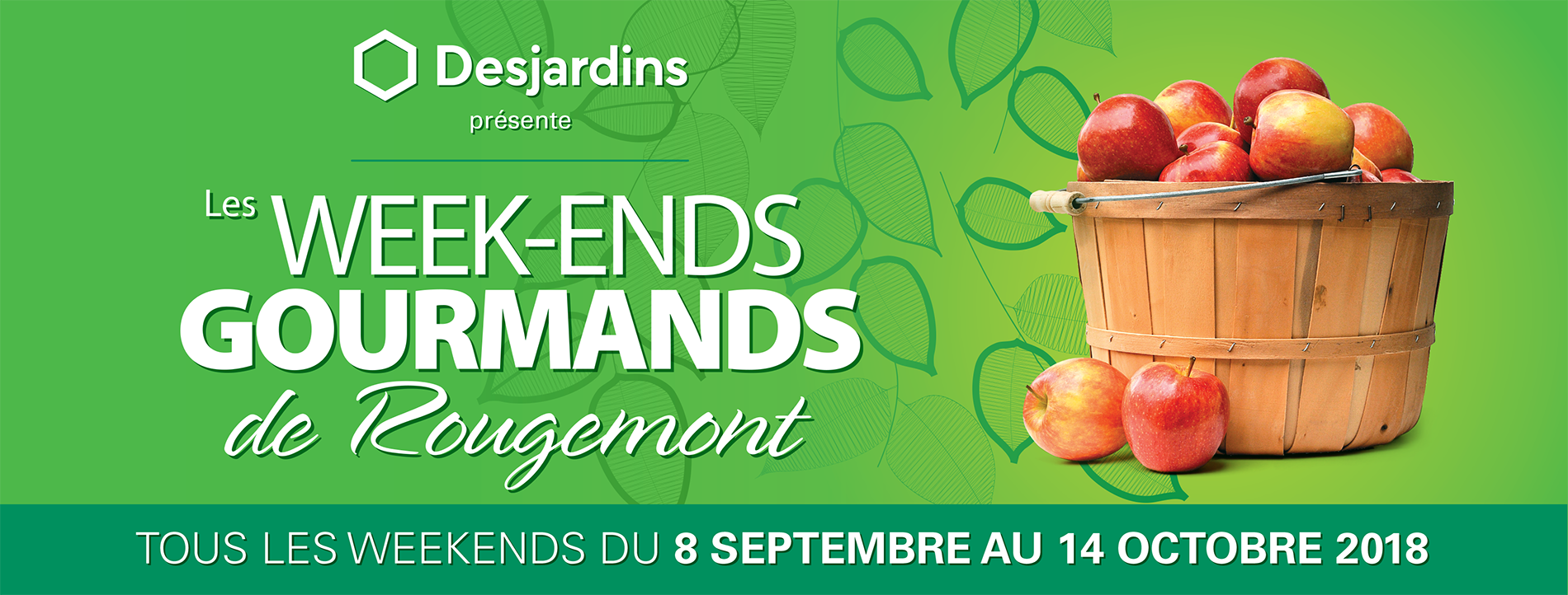 Les Week-Ends gourmands de Rougemont du 7 septembre au 14 octobre 2019